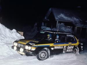 Saab 99 Turbo Rally Car 1979 года